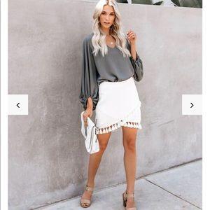 "Vici ""La Casa"" Tassel Skirt"